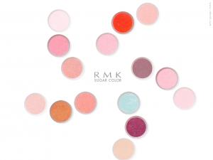 RMK suger color チークのスクリーンセーバ