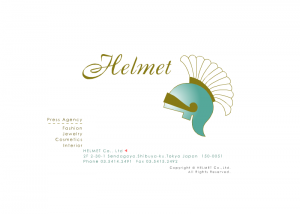 ファッション関係会社ヘルメット