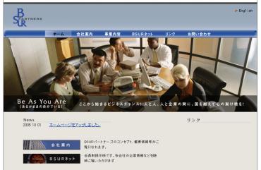 BSURシステムとホームページ制作