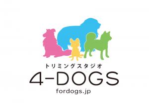 4-DOGSロゴとマーク制作