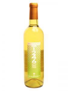 デラウェアの白ワインにごり
